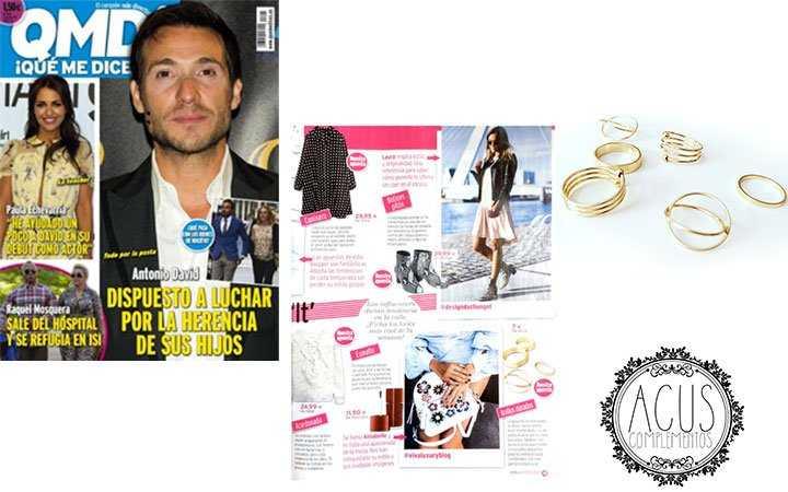 Revista QMD | Pack de anillos minimalistas ACUS