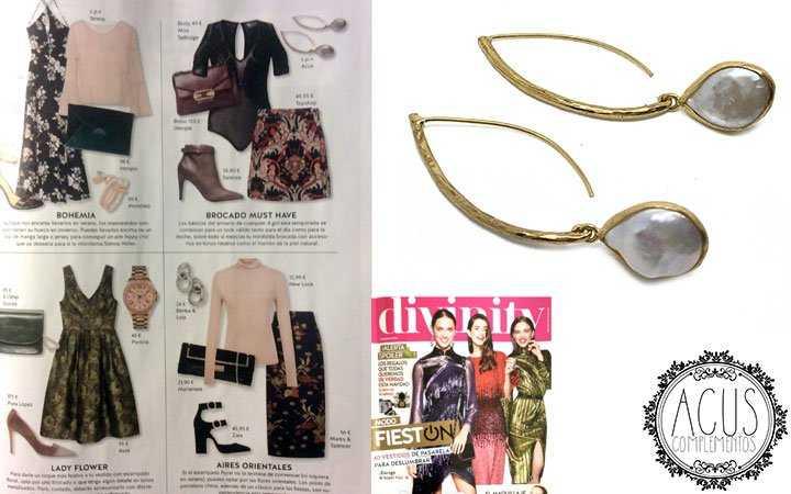 Revista divinity | Pendientes Garza