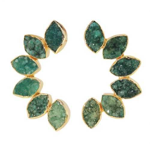 Pendientes-Boreal-piedras-drusas-verde-Acus.