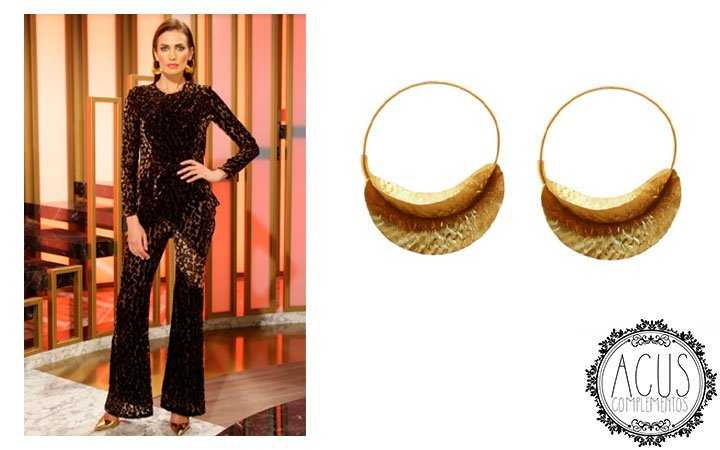 NIEVES ALVAREZ,FLASH MODA TVE,TV | PENDIENTES ISHIGAMI