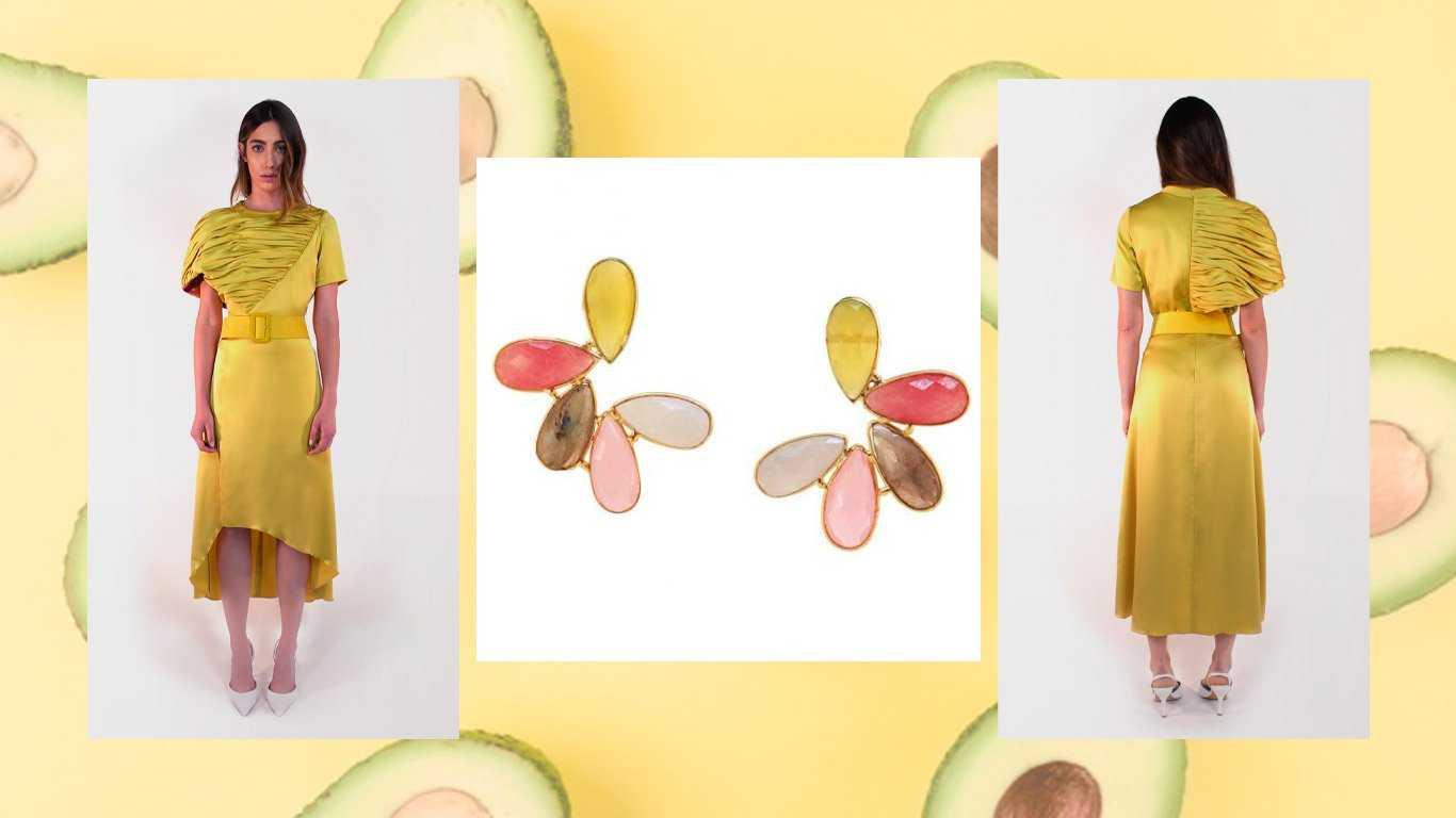 Pendientes Cosmopolitan Multicolor