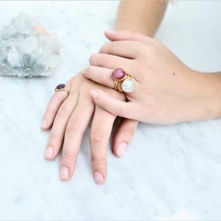 ANILLO POINT ROSA DARK