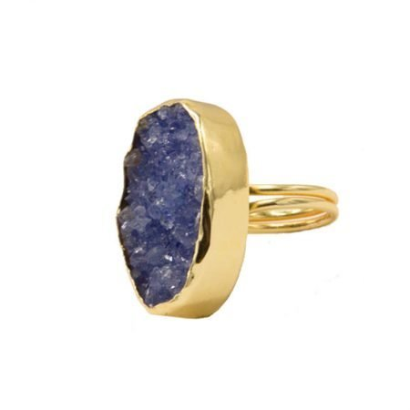 ANILLO GALAXY DRUSA AZUL