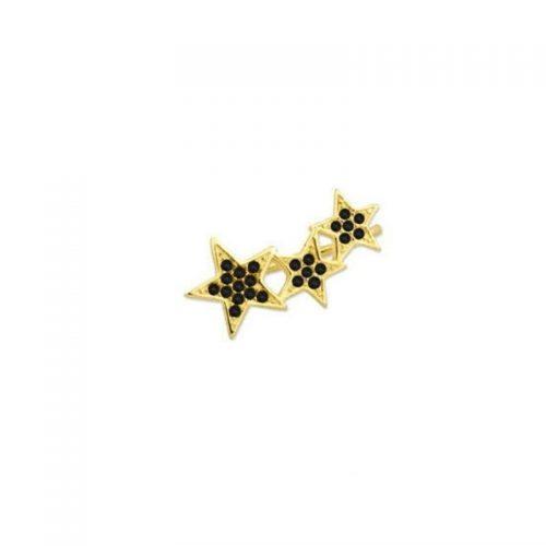 Pendientes attrium earcuff black star UNIDAD (35)